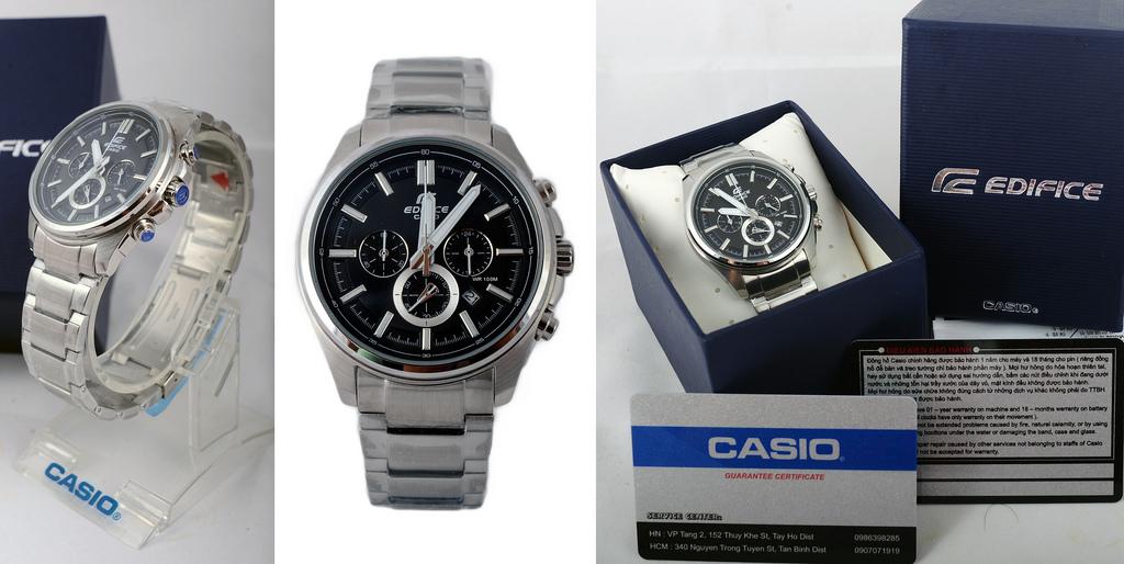 Đồng hồ nam chính hãng Casio EFR-525D-1AV full box