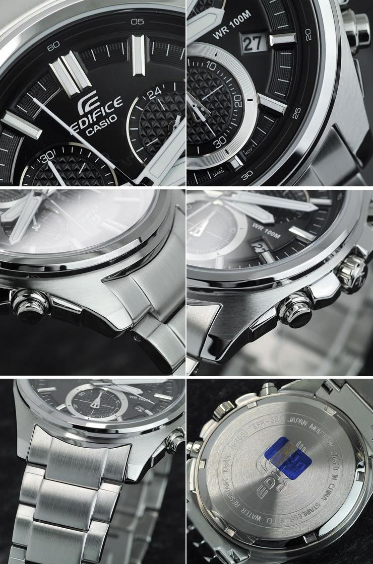 Chi tiết từng phần đồng hồ nam Casio EFR-525D-1AV