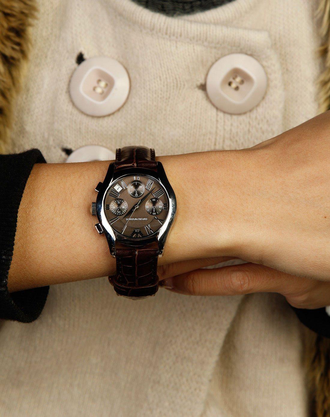 Đồng hồ đeo tay nữ Armani AR0672 Emporio sang trảnh