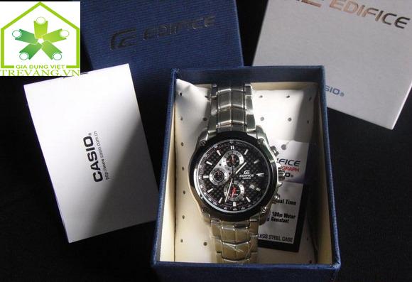 Đồng hồ nam chính hãng Casio Edifice EF-524SP-1A full box.