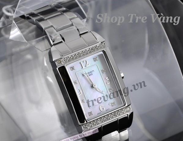 Đồng hồ nữ Casio Sheen SHN-4016D-7A tại show room.