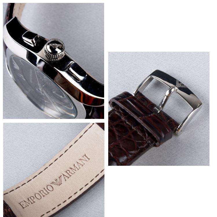 Đồng hồ đeo tay nữ Armani AR0672 Emporio đẹp mói góc cạnh