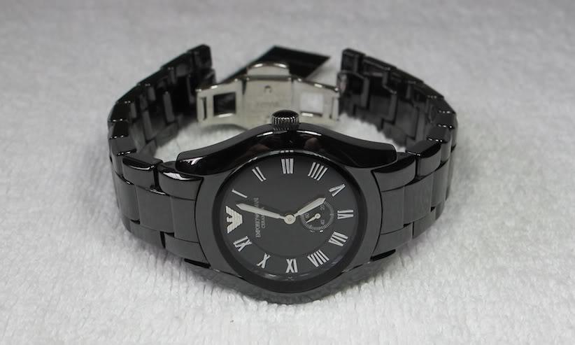 Đồng hồ nữ Emporio Armani AR1402 chất liệu cốm cao cấp