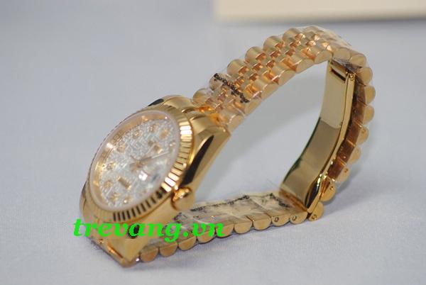 Đồng hồ Rolex nam R.506 mạ vàng 18k