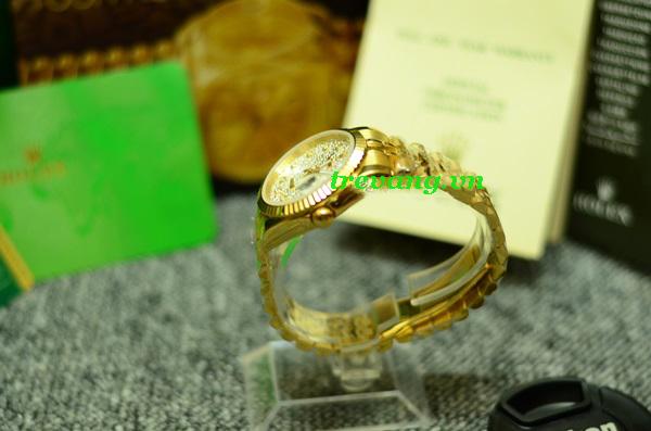 Đồng hồ Rolex nam R.506 mạ vàng hàng hiệu