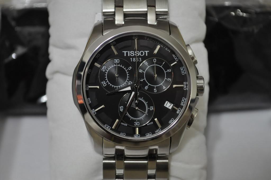 Đồng hồ Tissot 1853 T035.617.11.051.00 mặt nền đen sang trọng