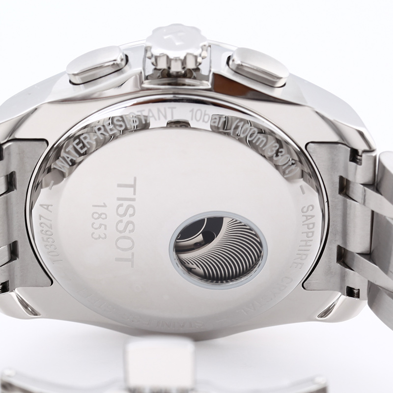Đồng hồ Tissot 1853 T035.627.11.031.00 mặt sau tinh tế