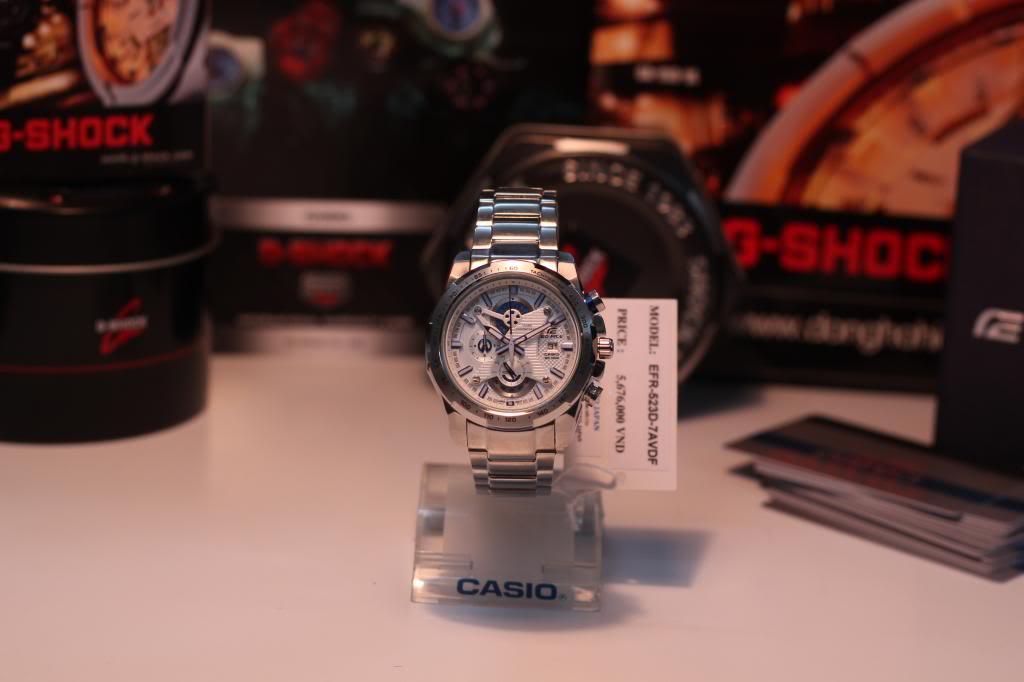 Đồng hồ nam Casio Edifice EFR-523D-7A tại show room
