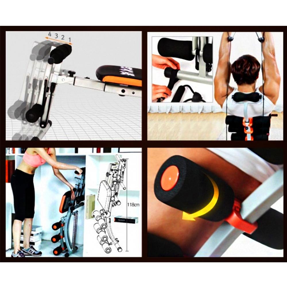 Máy tập cơ bụng Six Pack Care Shachu 2014 các tư thế