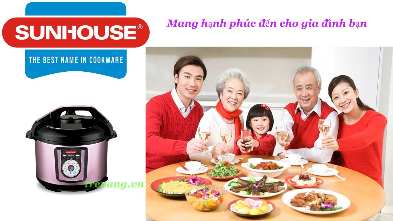 An toàn khi sử dụng nồi áp suất điện đa năng Sunhouse SHD1755