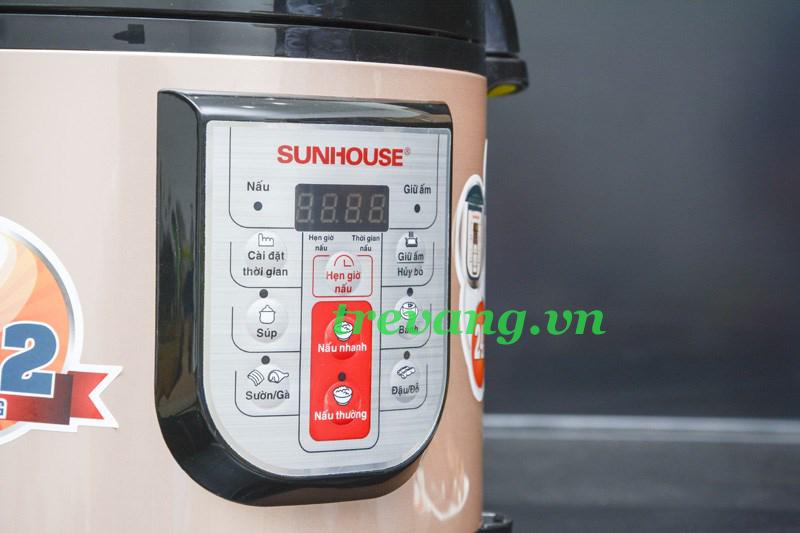 Nồi áp suất điện Suhouse SHD1768 điều chỉnh