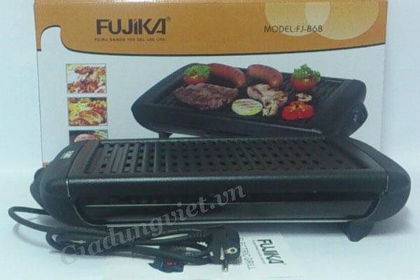 Bếp nướng điện Fujika FJ-868 màu đen sang trọng
