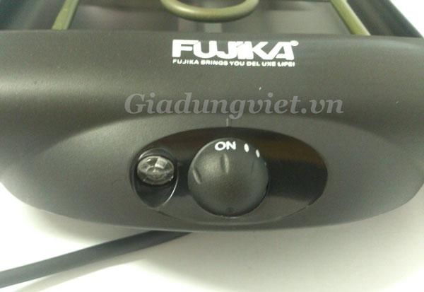 Bếp nướng điện Fujika FJ-868 núm chỉnh nhiệt