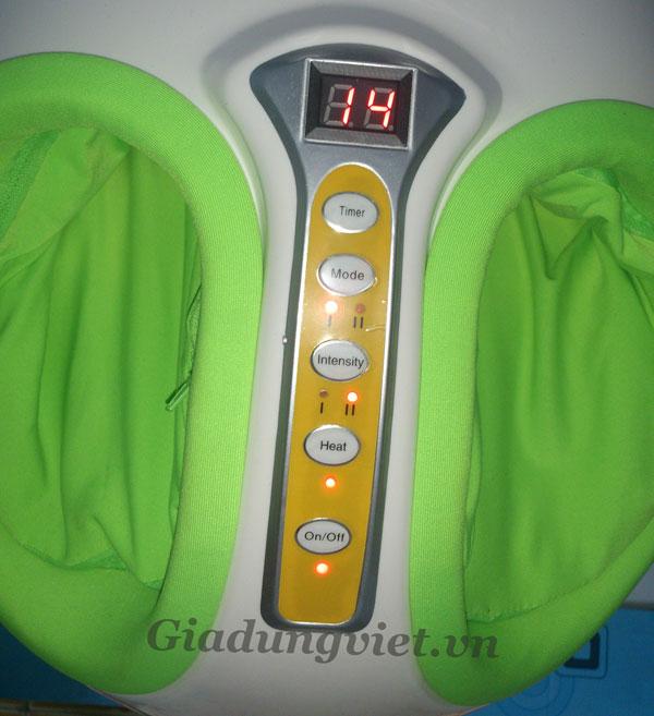 Máy massage chân HY-8586 màn hình điều khiển