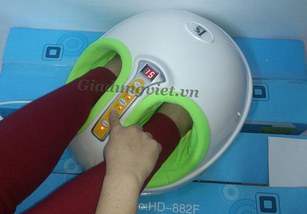 Máy massage chân HY-8586 tự chọn chế độ