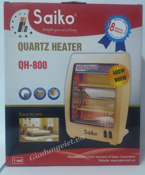 Quạt sưởi ấm Saiko QH-800
