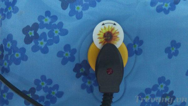 Túi chườm đa năng Hướng Dương giắc cắm điện an toàn