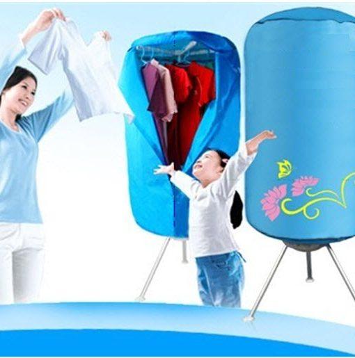 Máy sấy quần áo Shachu KT-F90 giá treo quần áo chắc khỏe