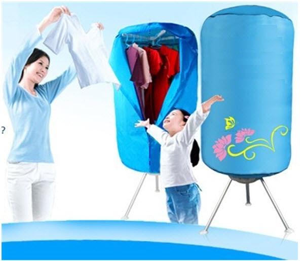 Máy sấy quần áo Shachu KT-F90 tủ tròn, khung nhôm