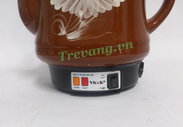 Ấm sắc thuốc Vicok VT-01 chế độ sắc thuốc