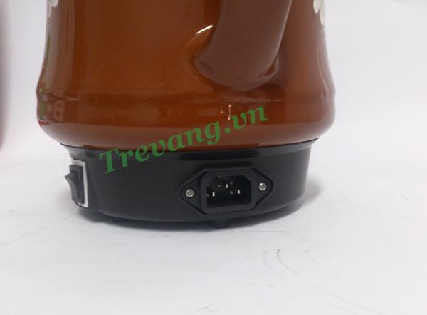 Ấm sắc thuốc Vicok VT-01 ổ cắm điện