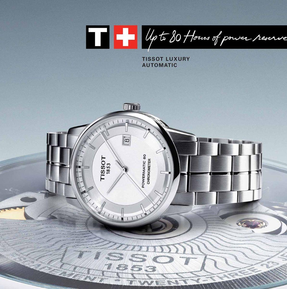 Đồng hồ Tissot 1853 gắn chứng nhận Chronometer
