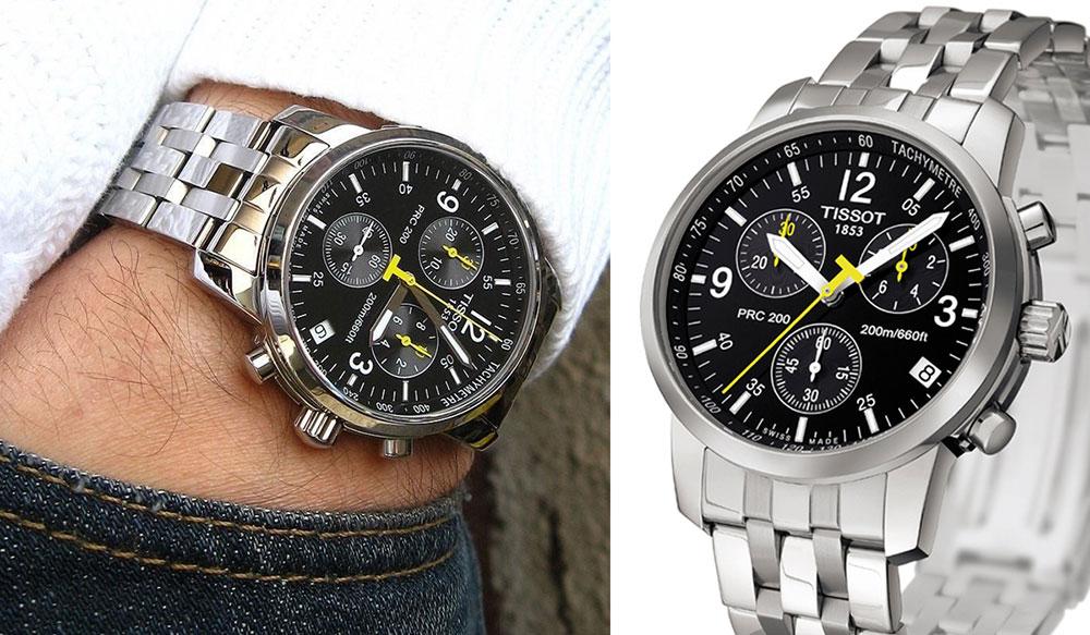 Đồng hồ Tissot cho người dáng cao cổ tay tròn