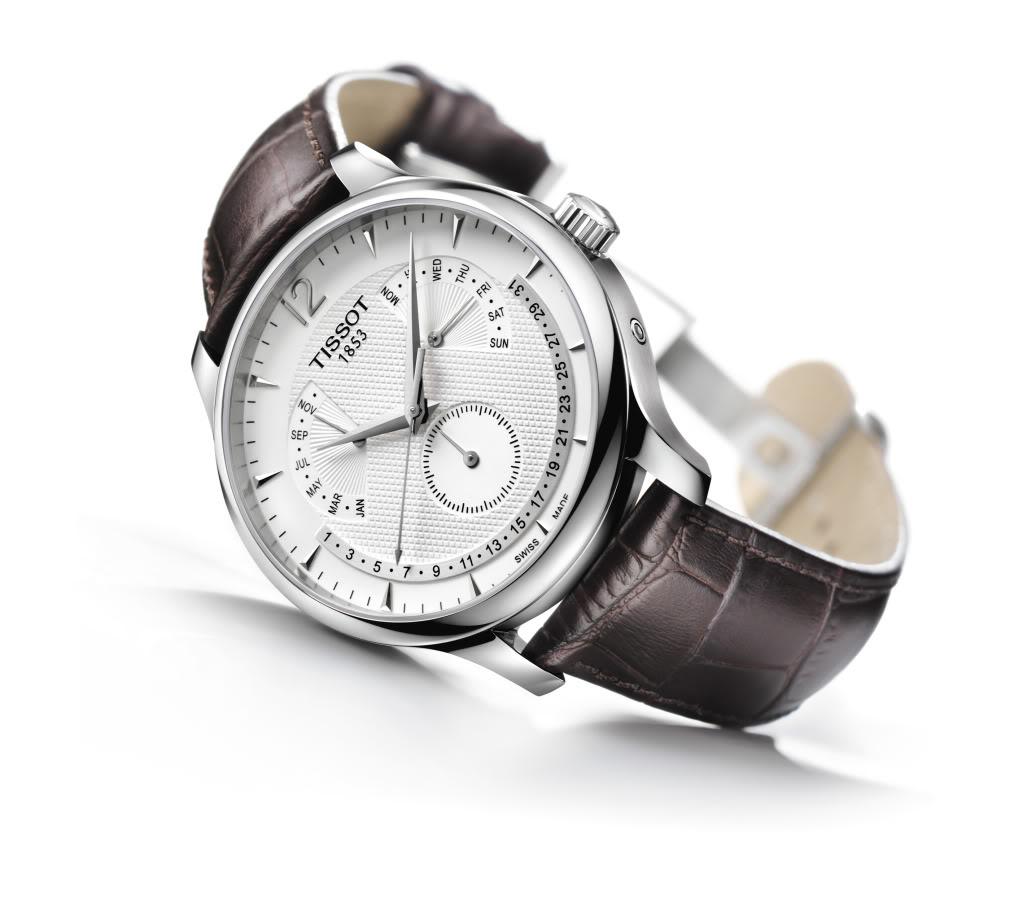 Đồng hồ Tissot chức năng lịch vạn niên