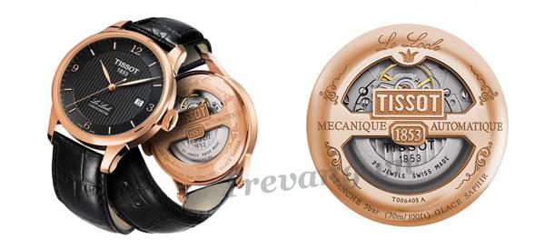 cơ chế chuyển động và sai số chính xác của đồng hồ cơ Tissot