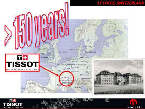 Đồng hồ Tissot truyền thống lâu đời