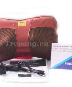 Gối massage hồng ngoại Chefman CM-212A Pillow USA dễ sử dụng