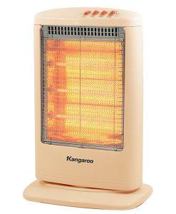 Đèn sưởi Halogen - Quạt sưởi Kangaroo KG 1012C 3 bóng