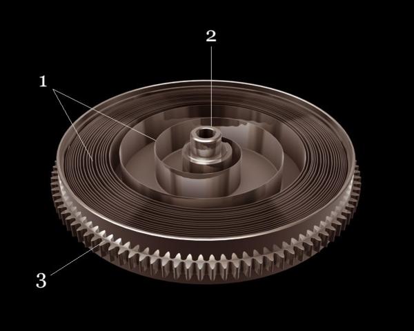 Đồng hồ Tissot cơ phần dây cót