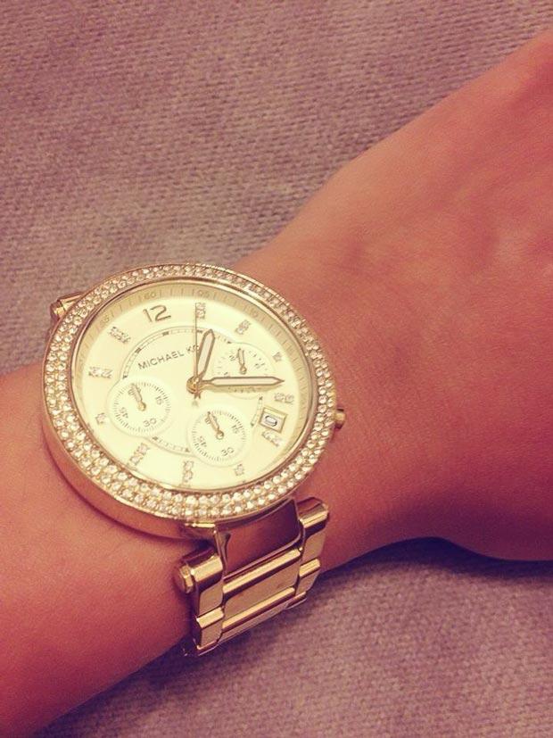Đồng hồ đeo tay của Triệu Minh