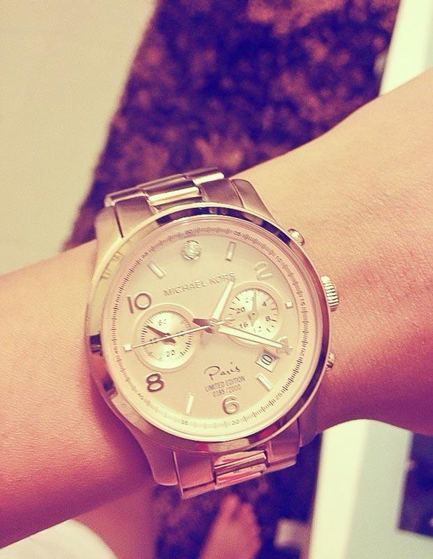 Đồng hồ đeo tay của minh Triệu