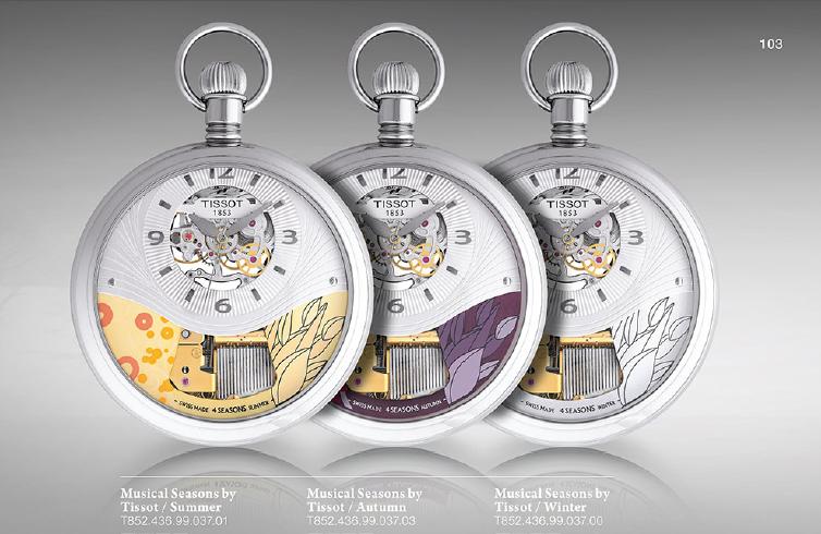 Đồng hồ Tissot T -pocket - sản phẩm đồng hồ cao cấp bỏ túi