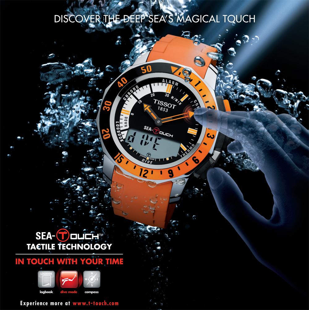 Đồng hồ Tissot 1853 chính hãng dòng T-touch