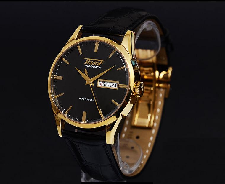 """Đồng hồ Tissot mạ vàng, mặt sapphia đen """"tưởng không trẻ"""" hóa ra """"trẻ không tưởng"""""""