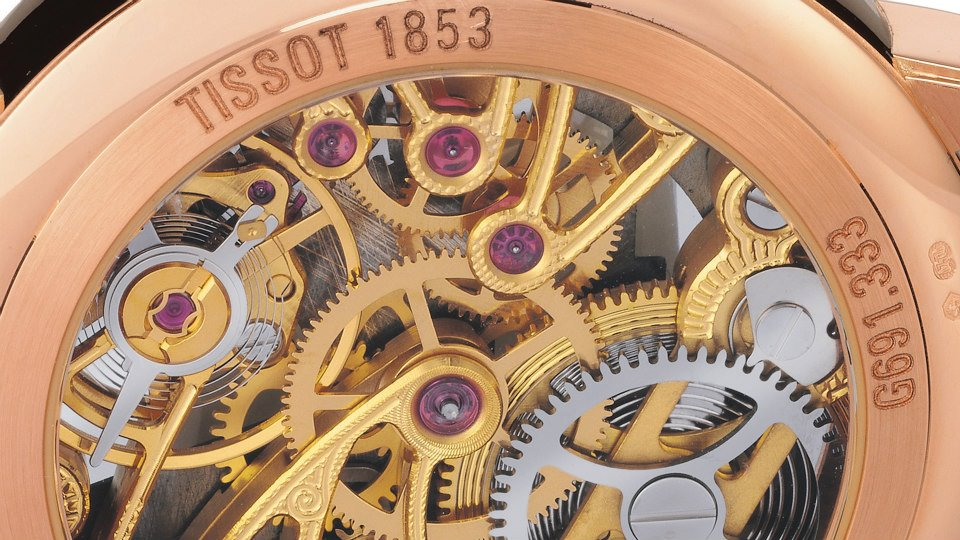 Hoạt động bên trong đồng hồ cơ Tissot