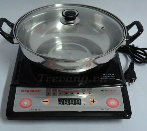 Bếp từ Sunhouse SH6150 Hàn Quốc tặng kèm nồi đun