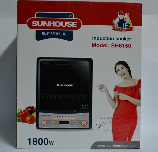 Bếp từ Sunhouse SH6150 Hàn Quốc vỏ hộp đựng