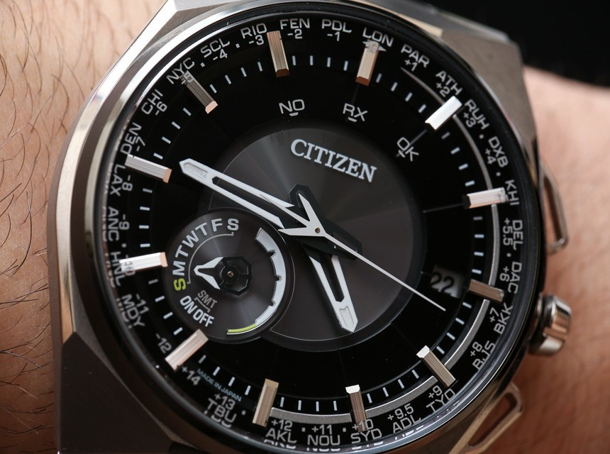 Citizen Eco-Drive Satellite F100