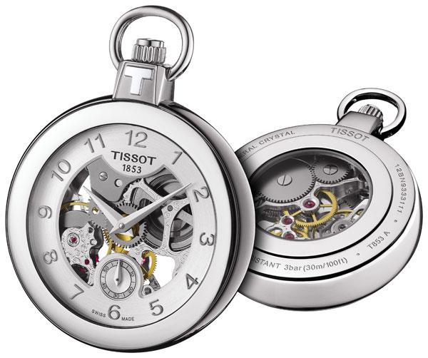 Đồng hồ Tissot Pocket Mechanical Skeleton