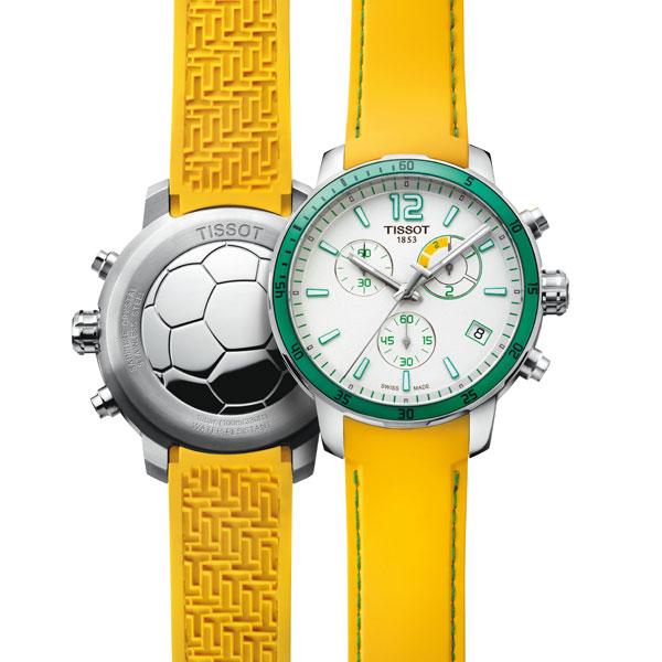 Đồng hồ Tissot Quickster Football