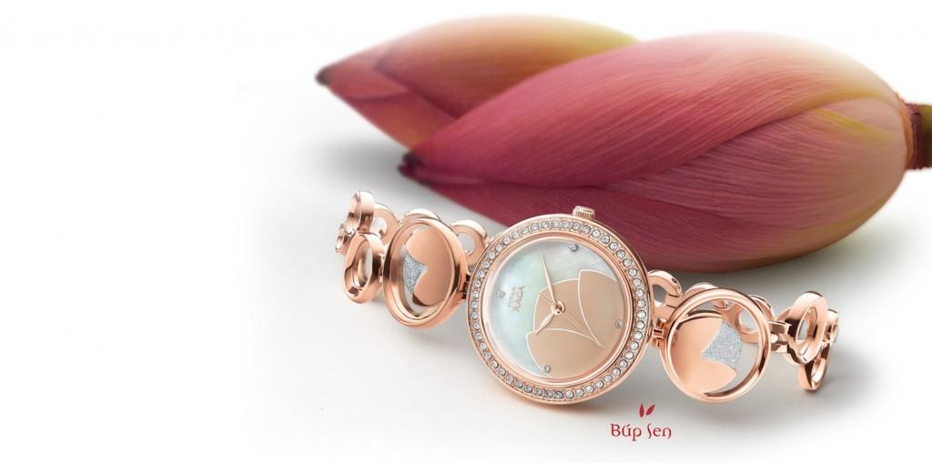 Đồng hồ hàng hiệu lấy cảm hứng từ hoa sen