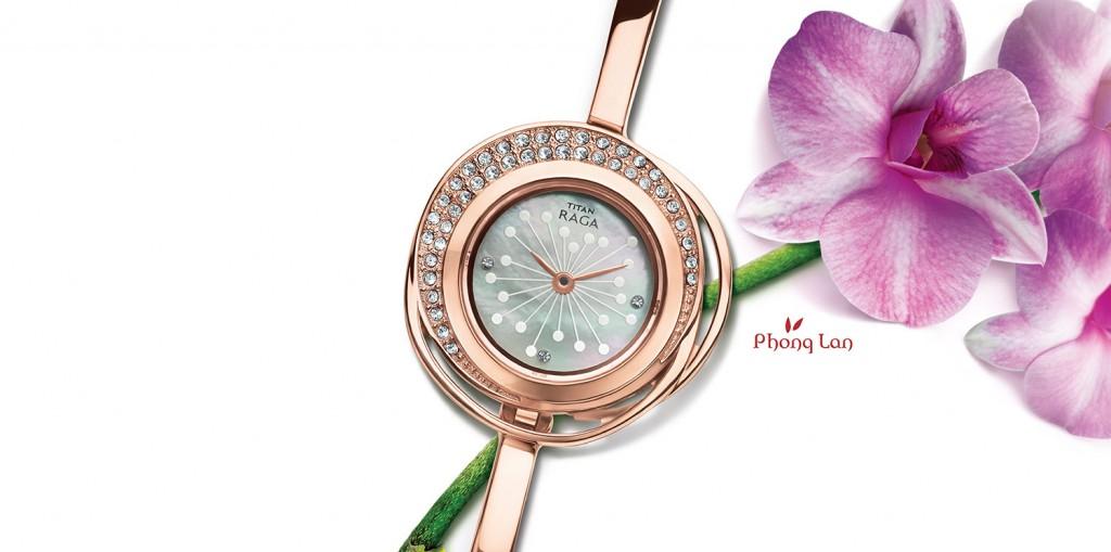 Đồng hồ hàng hiệu lấy cảm hứng từ hoa lan