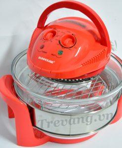 Lò nướng thuỷ tinh Sunhouse SH410 đa chức năng nấu