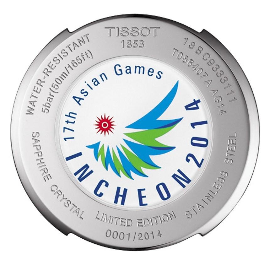 đồng hồ Tissot 17 Asian Game 2014