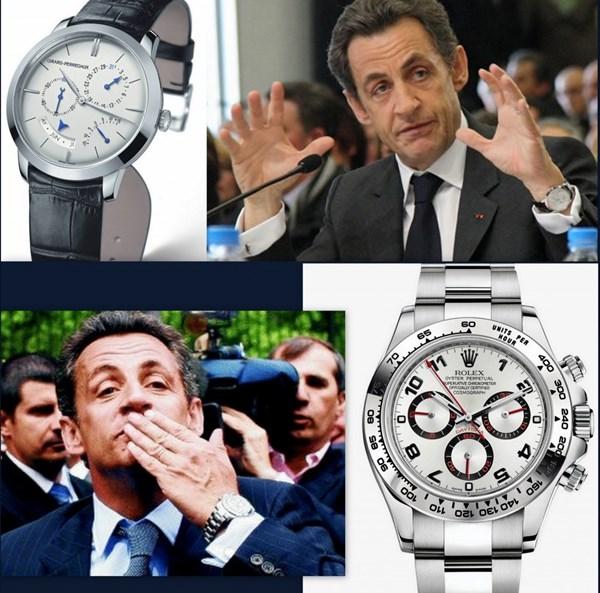 Đồng hồ Rolex –Sự lựa chọn của Cựu Tổng thống Pháp