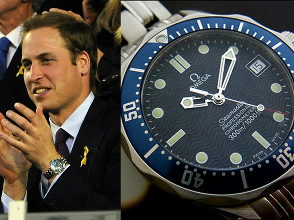 Hoàng tử Anh quốc – yêu thích dòng đồng hồ Omega.